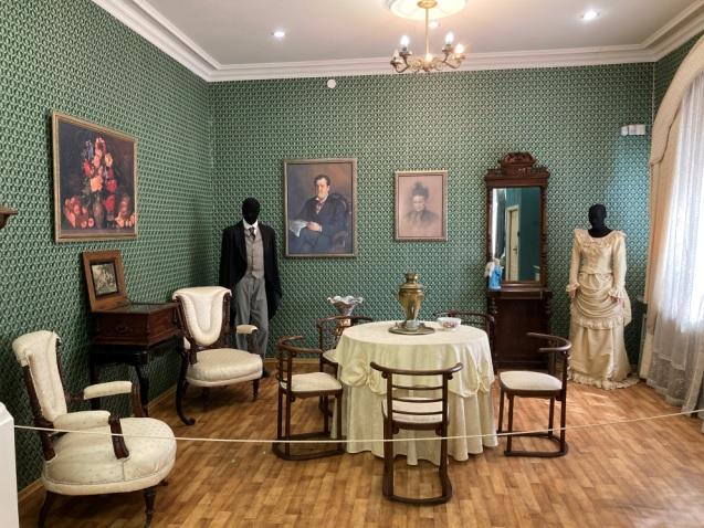 купеческая комната в музее