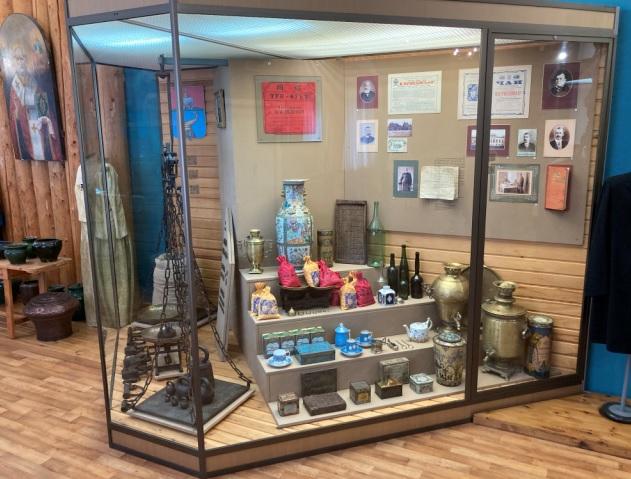 чайная торговля в Кунгуре в музее