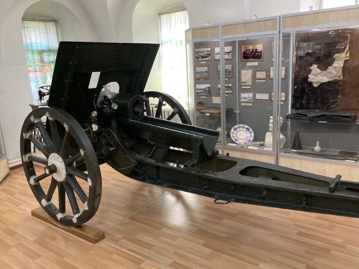 пушка в музее кунгура
