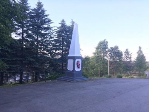 Памятник погибшим в Граждаснкой войне